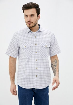 Рубашка Dairos. Цвет: голубой
