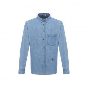 Джинсовая рубашка Isabel Marant. Цвет: голубой