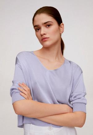 Пуловер Mango - CERITA. Цвет: фиолетовый