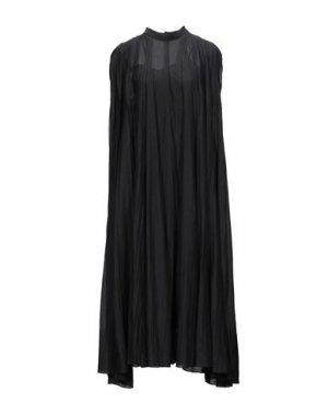 Длинное платье ATTIC AND BARN. Цвет: черный