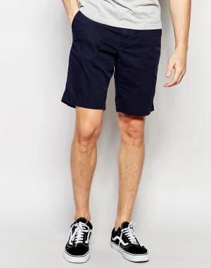 Темно-синие шорты чиносы Tommy Hilfiger