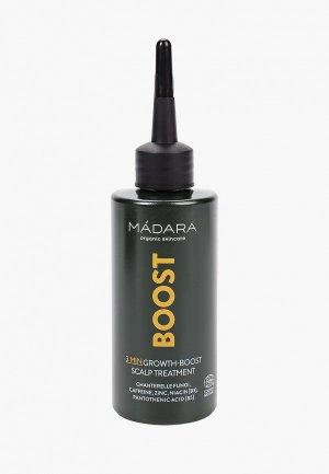 Сыворотка для волос Madara органическая, укрепления и стимуляции роста волос, 100 мл.. Цвет: прозрачный