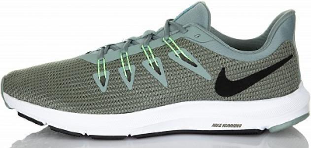 Кроссовки мужские Quest, размер 43 Nike. Цвет: зеленый