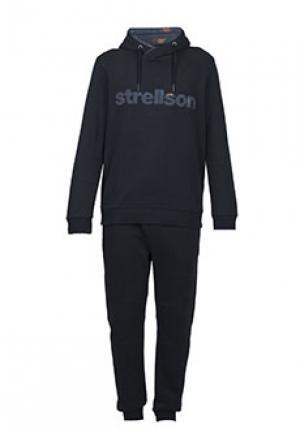 Спортивный костюм STRELLSON. Цвет: черный