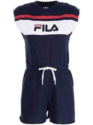 Комбинезон Henrika с логотип Fila. Цвет: синий