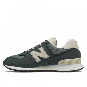 574 New Balance. Цвет: зеленый