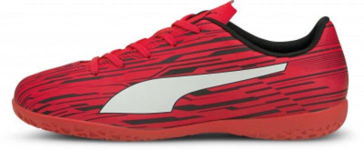 Бутсы для мальчиков Rapido III, размер 37.5 Puma. Цвет: красный