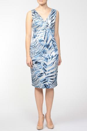 Платье Coccapani. Цвет: голубой