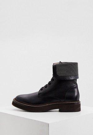 Ботинки Brunello Cucinelli. Цвет: черный