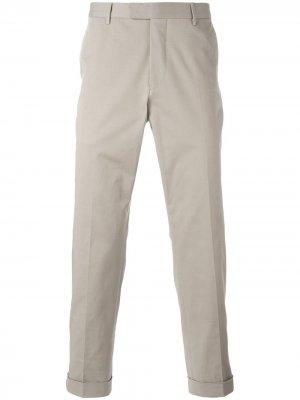 Классические брюки чинос Gucci. Цвет: нейтральные цвета