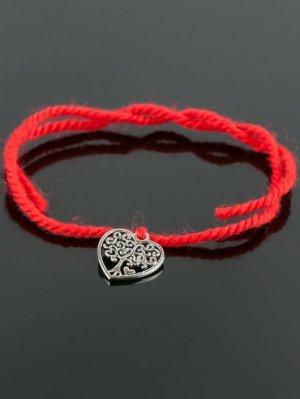 Браслет-оберег красная нить - дерево жизни бп9955 Бусики-Колечки