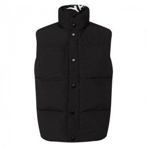 Двусторонний жилет Givenchy. Цвет: чёрно-белый