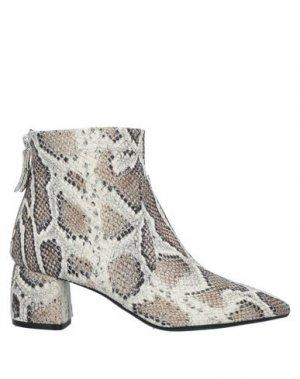 Полусапоги и высокие ботинки AGL ATTILIO GIUSTI LEOMBRUNI. Цвет: светло-серый