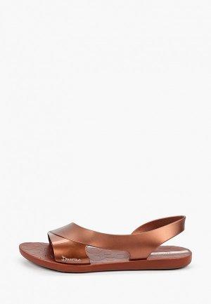 Сандалии Ipanema. Цвет: коричневый