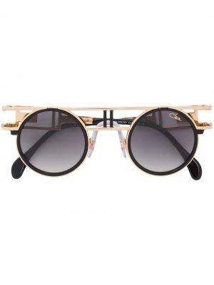 Солнцезащитные очки 668-3 Cazal. Цвет: черный