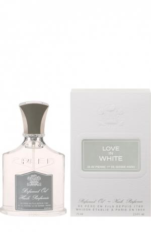 Парфюмированное масло Love in White Creed. Цвет: бесцветный