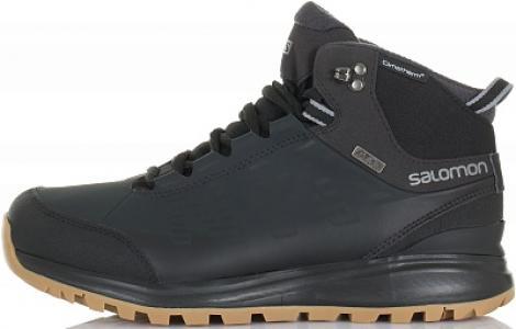 Ботинки утепленные мужские Kaipo CS WP, размер 40 Salomon. Цвет: черный