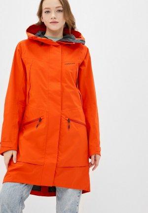 Куртка Didriksons ILMA. Цвет: оранжевый