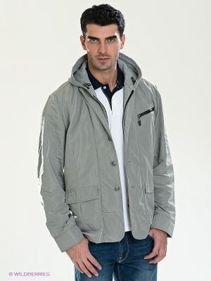 Куртка Claudio Campione. Цвет: светло-серый