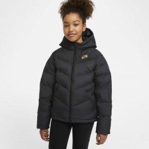 Куртка с синтетическим наполнителем для школьников Sportswear - Черный Nike
