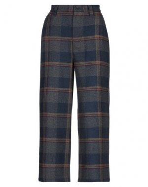 Повседневные брюки LAZY OAF. Цвет: темно-синий
