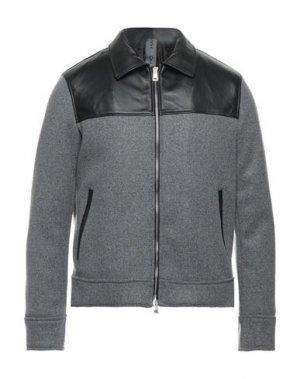 Куртка HAMAKI-HO. Цвет: серый