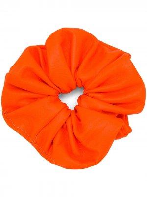 Фактурная объемная резинка для волос Manokhi. Цвет: оранжевый
