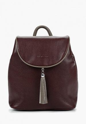 Рюкзак Franchesco Mariscotti. Цвет: бордовый