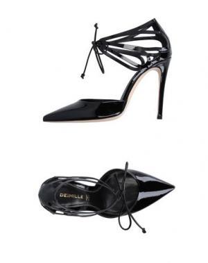 Туфли DEIMILLE. Цвет: черный