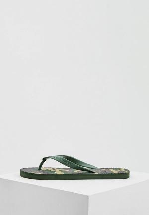 Сланцы Armani Exchange. Цвет: зеленый