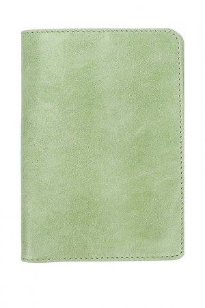 Обложка для паспорта D.Angeny. Цвет: салатовый