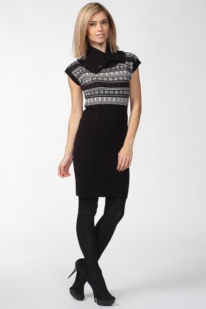 Платье-туника Folia. Цвет: черный