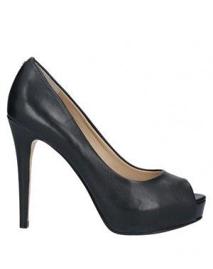 Туфли GUESS. Цвет: черный
