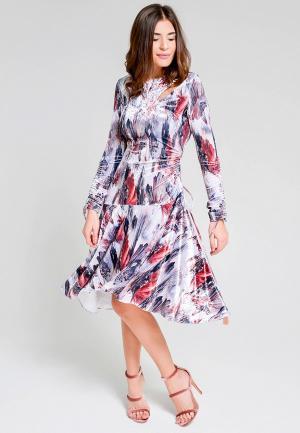 Платье Elena Andriadi MP002XM0YHGB. Цвет: мультиколор
