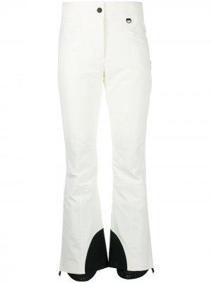 Лыжные брюки Moncler Grenoble. Цвет: белый