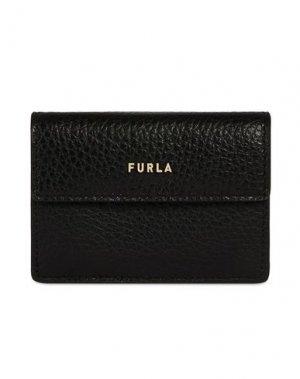 Бумажник FURLA. Цвет: черный