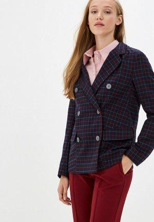 Пиджак Jackie Smart. Цвет: синий