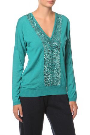 Пуловер Paul & Shark. Цвет: голубой