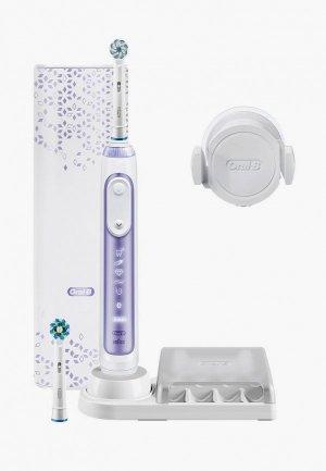 Электрическая зубная щетка Oral B Genius 10000N Purple D701.525.6XC. Цвет: фиолетовый