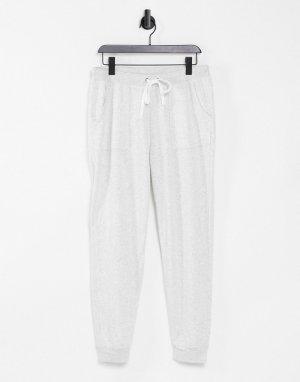 Кремовые флисовые спортивные штаны от комплекта Stay In-Белый Billabong