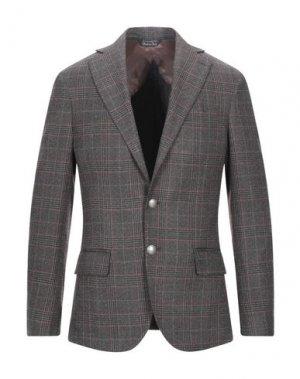 Пиджак TAKESHY KUROSAWA. Цвет: стальной серый