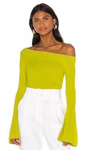 Пуловер westmont Lovers + Friends. Цвет: зеленый