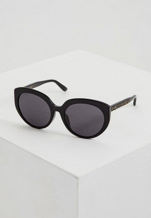 Очки солнцезащитные Jimmy Choo ETTY/F/S 807. Цвет: черный