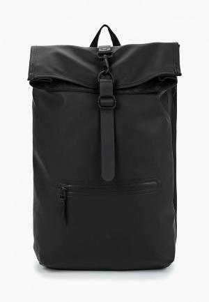 Рюкзак Rains. Цвет: черный