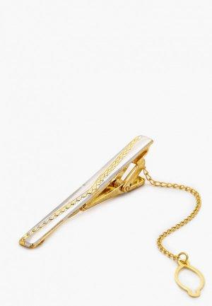 Зажим для галстука Ir.Lush. Цвет: золотой