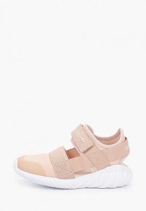 Сандалии adidas Originals DOOM. Цвет: бежевый