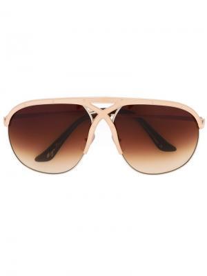 Солнцезащитные очки Voracious Frency & Mercury. Цвет: золотистый
