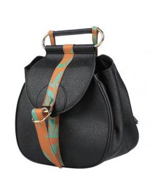 Рюкзаки и сумки на пояс PETER PILOTTO. Цвет: черный