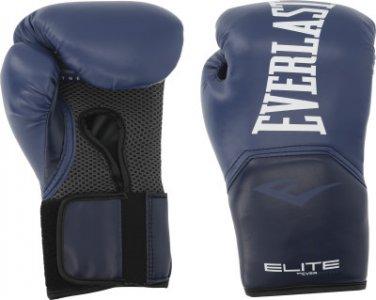 Перчатки боксерские , размер 8 Everlast. Цвет: синий