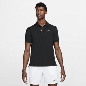 Мужская рубашка-поло с плотной посадкой  Polo Rafa - Черный Nike